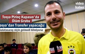 2019 Yılı Tosya Pirinç Kupası Kura Çekimi