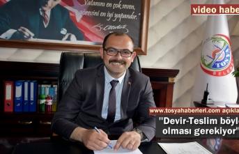 Belediye Başkanı Volkan Kavaklıgil Makamda İlk Demeçi haber sitemize yaptı