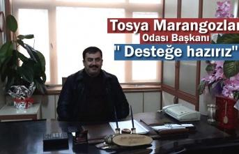 Tosya Marangozlar Odası Basın Açıklaması