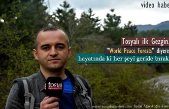 Tosyalı Gezgin Dünya Barışı için Yollarda