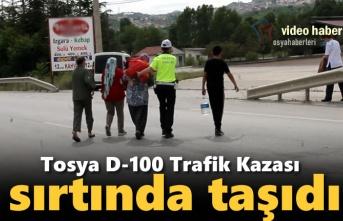Tosya D-100 Karayolu Trafik Kazası Sonrası Yaşananlar