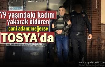 Akrabasını Yakarak Öldüren Cinayet Zanlısı Fikret Cinli Tosya'yıda Dolandırmış