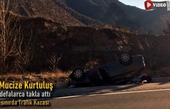 Tosya-Ilgaz Sınırında Trafik Kazası