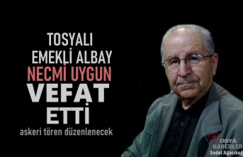 Vefat eden Tosyalı Albay için Yarın Askeri Tören Düzenlenecek