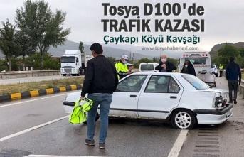 TOSYA D100 KARAYOLUNDA TRAFİK KAZASI