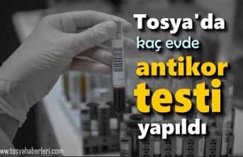 Tosya'da 209 Evde Antikor Testi Yapılıyor