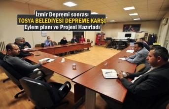 İzmir Depremi sonrası Tosya Belediyesi Depreme karşı projelendirme Planı Hazırladı