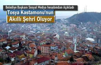 Tosya Belediyesi ''Akıllı Şehir'' Çalışmalarına Başladı