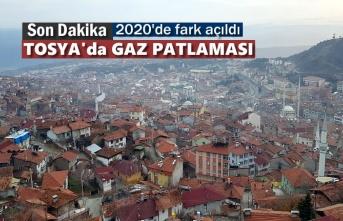 Tosya'da Gaz Patlaması