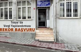 TOSYA'DA VERGİ YAPILANDIRMASINA REKOR BAŞVURU