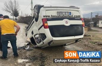 Tosya-Çaykapı Kavşağında Trafik Kazası