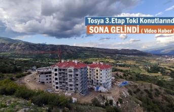 TOSYA TOKİ KONUTLARINDA SONA GELİNDİ