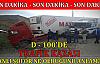 D-100'de Trafik Kazası ''İranlı Şoför Neye Uğradığını Şaşırdı ''