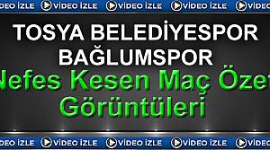 Keçiören Bağlumspor:0 - Tosya Belediyespor:1