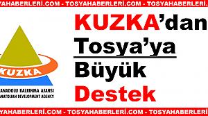 KUZKA'dan Tosya'ya büyük destek