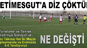 Tosya Belediyespor : 0 - Etimegutspor : 5