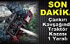 Tosya Çankırıı Kavşağında Trafik Kazası