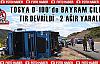 Tosya D-100 'de Bayram Çilesi-TRAFİK KAZASI