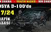 Tosya D-100 Gece Mesaisinde 1 Yaralı