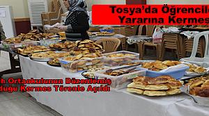 Tosya Fatih Ortaokulunun Düzenlemiş Olduğu Kermes Törenle Açıldı