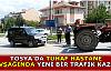 Tosya Hastane Kavşağında 2. Trafik Kazası