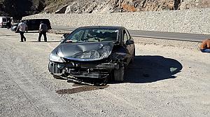 Tosya İHA Muhabiri Ağacıkoğlu Erzurum'da Kaza Yaptı