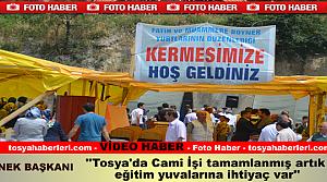 Tosya'da İhtiyaç Sahibi Öğrenciler Yararına Kermes
