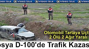 Tosya'da Trafik Kazası 2 Ölü, 2 Yaralı