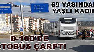 Tosya'da Yaşlı Kadına Otobüs Çarptı