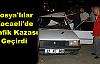 Tosya'lılar Kocaelide Trafik Kazası Geçirdi