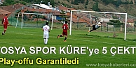 TOSYASPOR KÜRESPOR'U FARKLI YENDİ