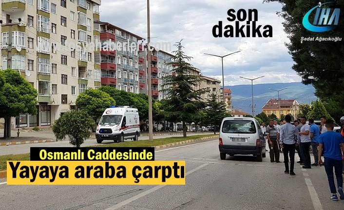 Tosya Osmanlı Caddesinde Trafik Kazası