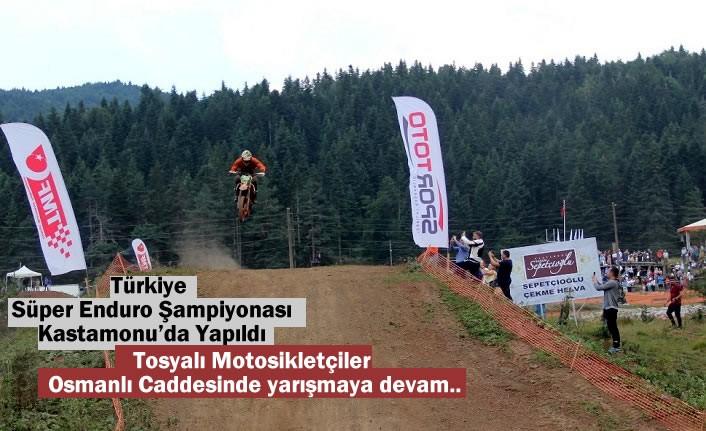 Türkiye Süper Enduro Şampiyonası Kastamonu'da Yapıldı