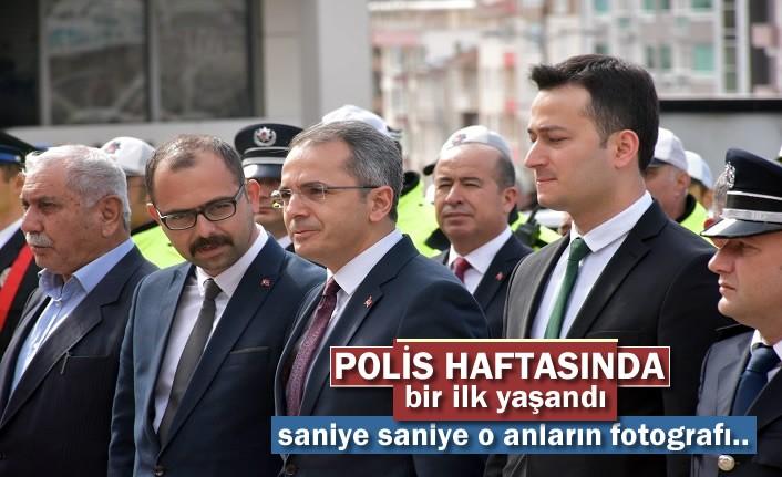 Polis Haftası Kutlamalarında Tosya'da Bir İlk Yaşandı
