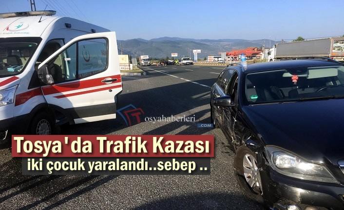 Tosya'da Trafik Kazasında 3 kişi Yaralandı