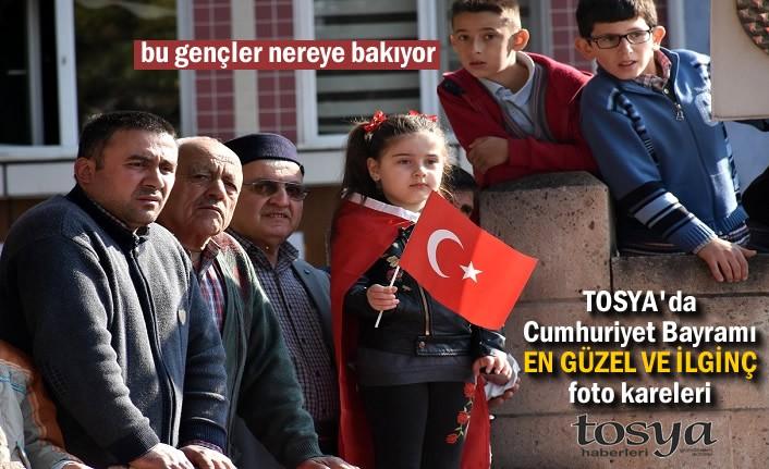 Tosya'da Cumhuriyet Bayramı Törenleri Foto Kareleri