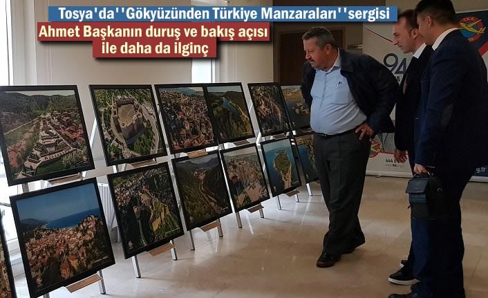 Tosya'da Türk Hava Kurumu Fotograf Sergisi Açtı