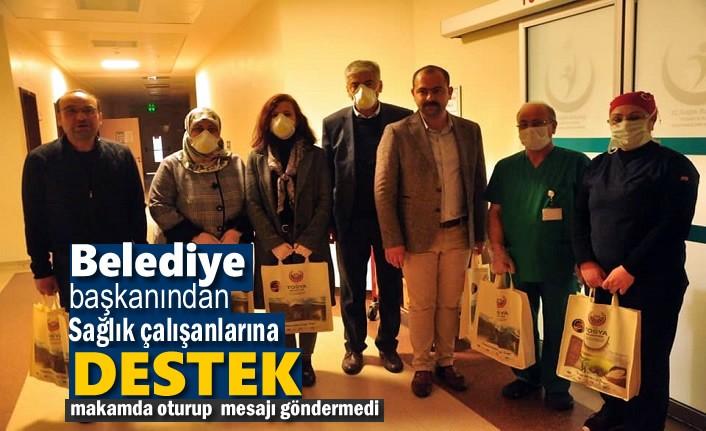 Tosya Belediye Başkanından Sağlık Çalışanlarına Destek Ziyareti