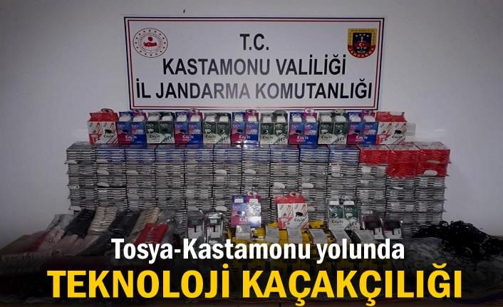 TOSYA-KASTAMONU YOLUNDA KAÇAKCILIK