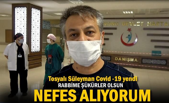 Tosyalı Süleyman Koronavirüs'ü Yendi