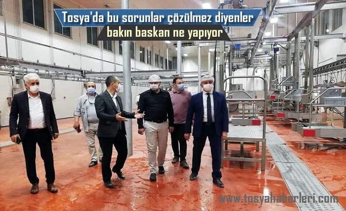 Tosya Belediye Başkanı Dev Proje için Start verdi