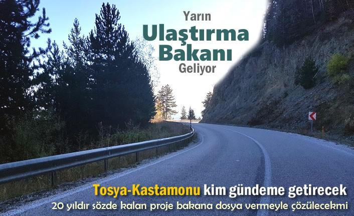 Tosya-Kastamonu Yolu için Yarın Büyük Gün
