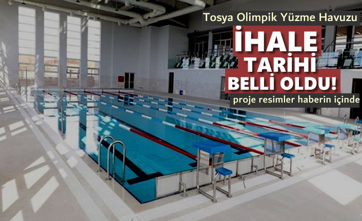 Tosya Yarı Olimpik Yüzme Havuzu 270 Gün Sonra Hizmete Girecek