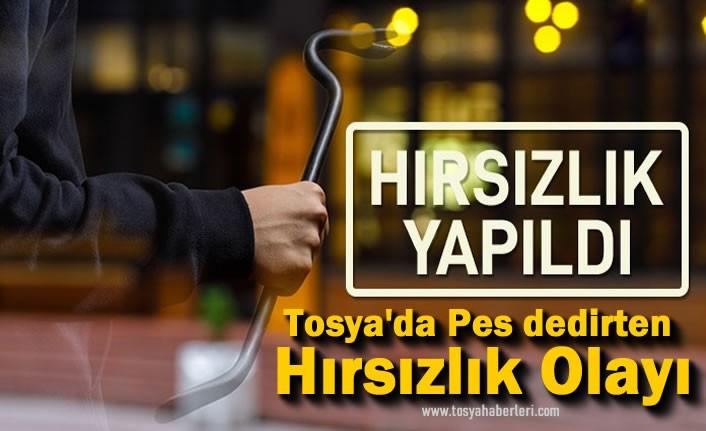 Tosya'da Pes Dedirten Hırsızlık Olayı