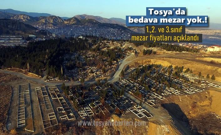 Tosya'da sınıfına göre Mezar Fiyatları Açıklandı