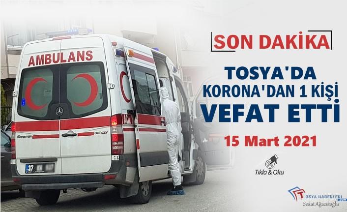 Tosya'da 1 kişi Koronadan Vefat Etti