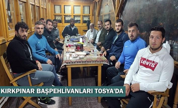 KIRKPINAR BAŞPEHLİVANLARI TOSYA'DA