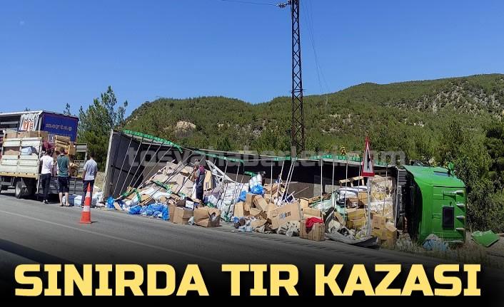 TOSYA SINIRINDA TIR KAZASI