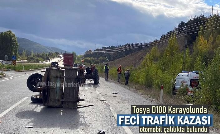 TOSYA D100'DE GURBETÇİ AİLE ÖLÜMDEN DÖNDÜ