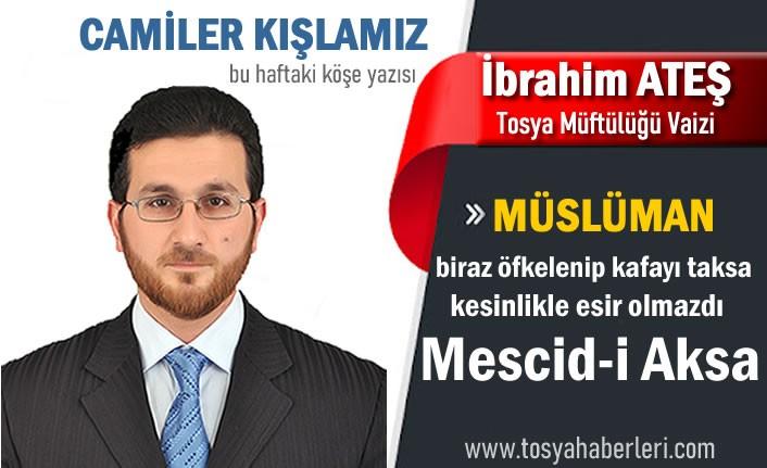 TOSYA İLÇE VAİZ İBRAHİM ATEŞ '' CAMİLER KIŞLAMIZ ''